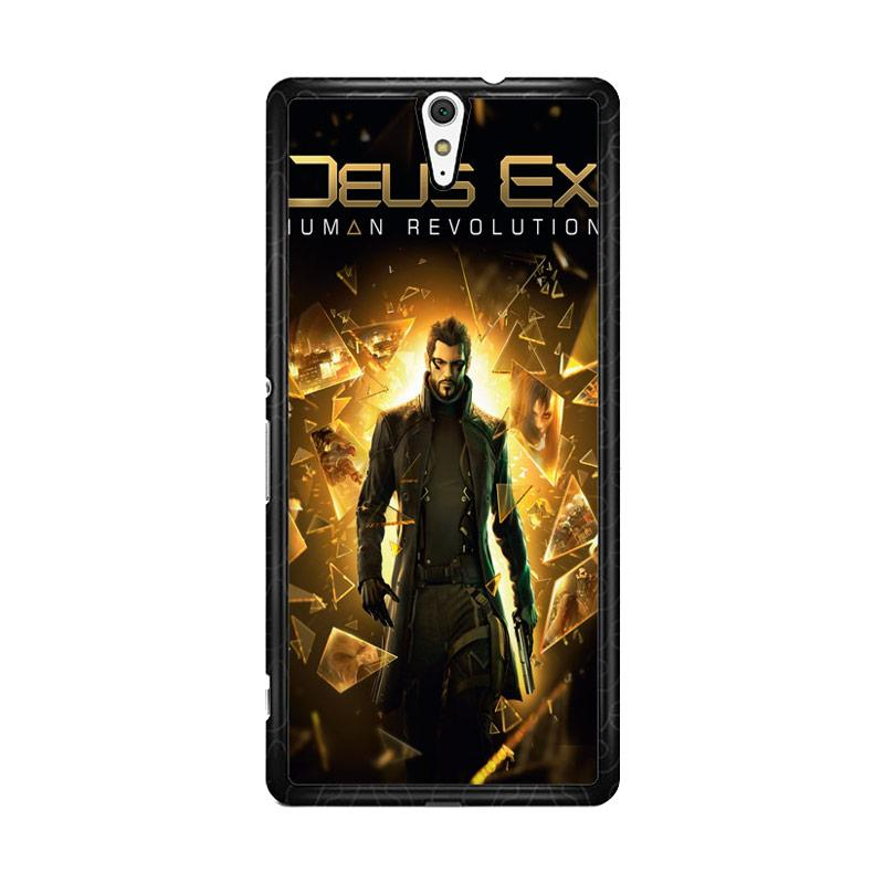 Flazzstore Deus Ex Human Revolution F0854 Custom Casing for Sony Xperia C5 Ultra