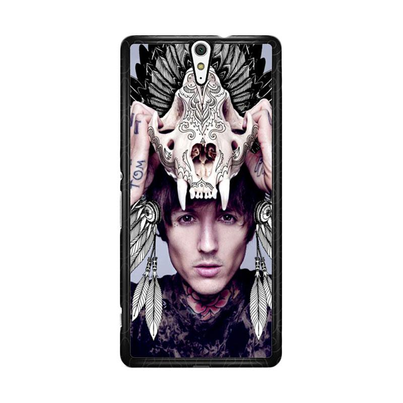 Flazzstore Oliver Sykes Skull Head Z0275 Custom Casing for Sony Xperia C5 Ultra