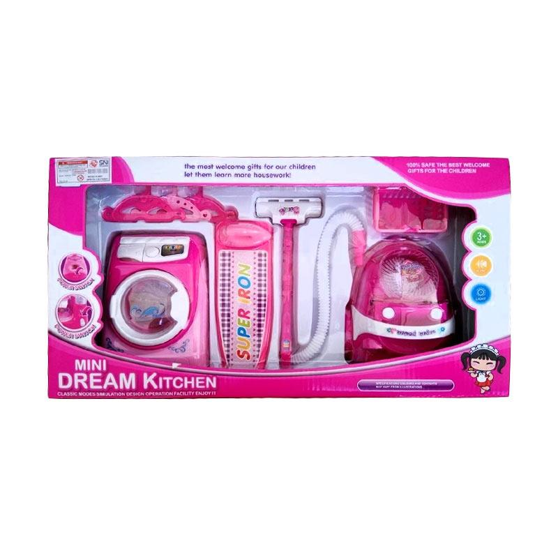 OEM YH189-3 Mini Dream Kitchen Housework Mainan Anak