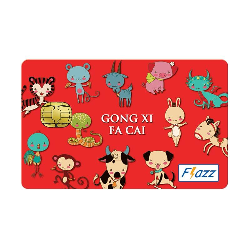 BCA Flazz Chinese New Year Edition - Animals (Imlek / Gong Xi Fa Cai)