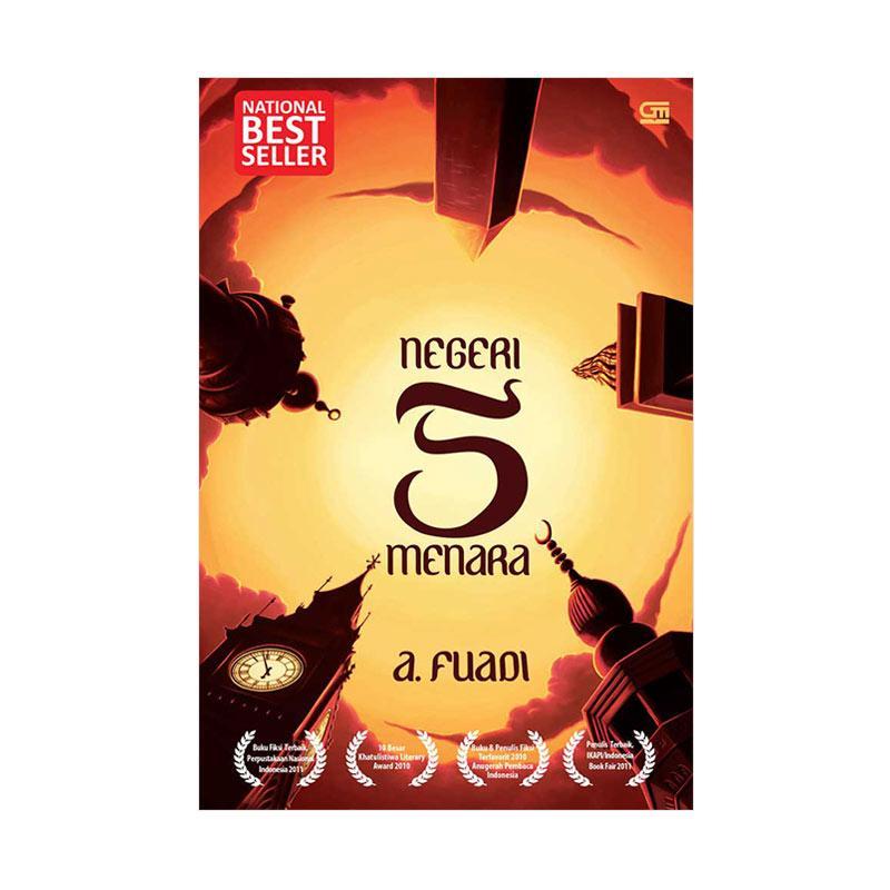 Gramedia Pustaka Utama Negeri 5 Menara by A. Fuadi Buku Novel