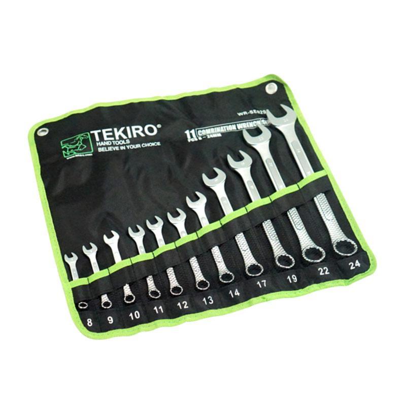 Jual Tekiro Kunci Ring Pas Set 8 24 Mm 11 Pcs Kunci Ringpas Set Tools Alat Perkakas Online – Harga & Kualitas Terjamin | Blibli.com