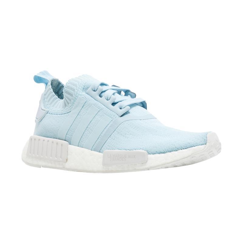 harga adidas Originals Men NMD R1 Sepatu Sneakers Pria - Biru Muda [BY8762] Blibli.com