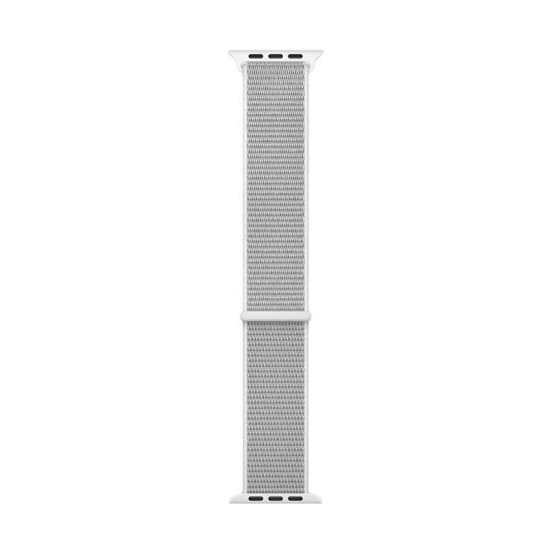 harga Wakaka Seashell Sport Loop Strap for Apple Watch 42 mm - Abu-abu Blibli.com