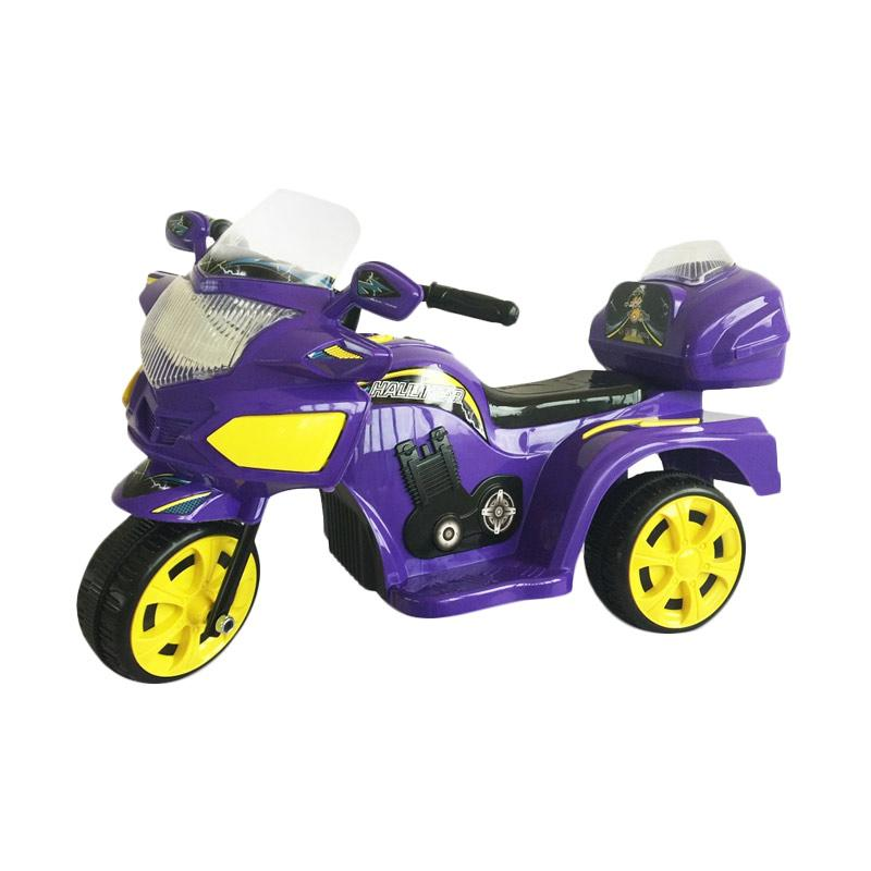 harga Ocean Toy Motor Aki Halilintar Mainan Anak - Purple Blibli.com