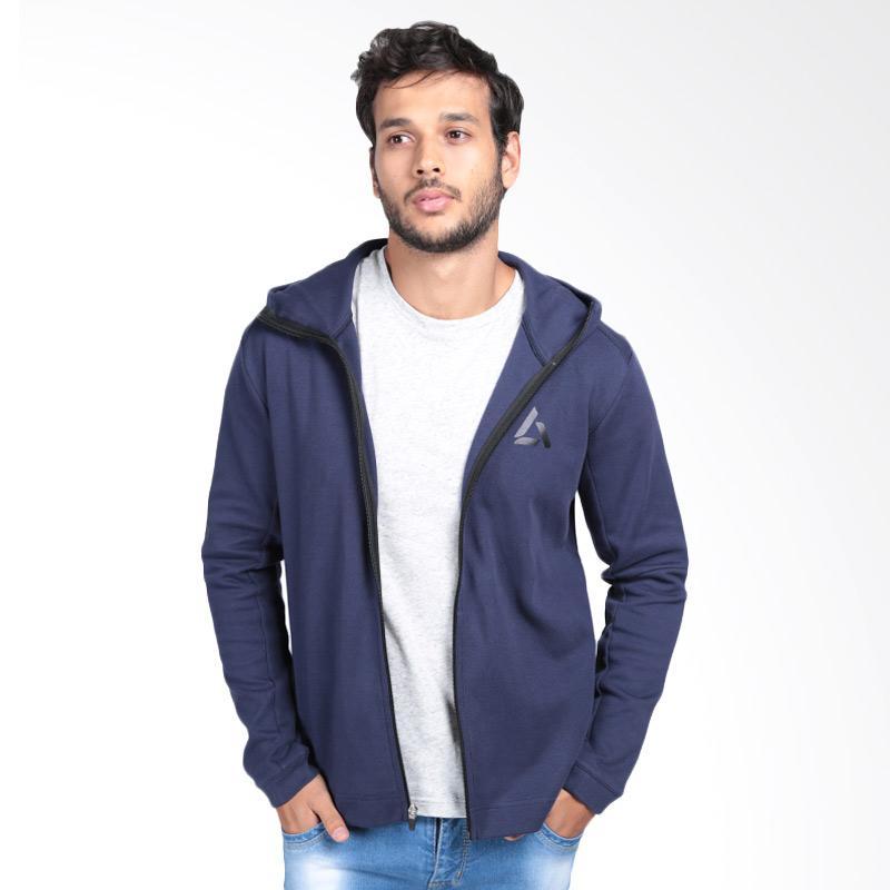 harga Legacy Sportswear Ultra Fleece Full-Zip. Col Jaket Olahraga Pria - Navy Blibli.com