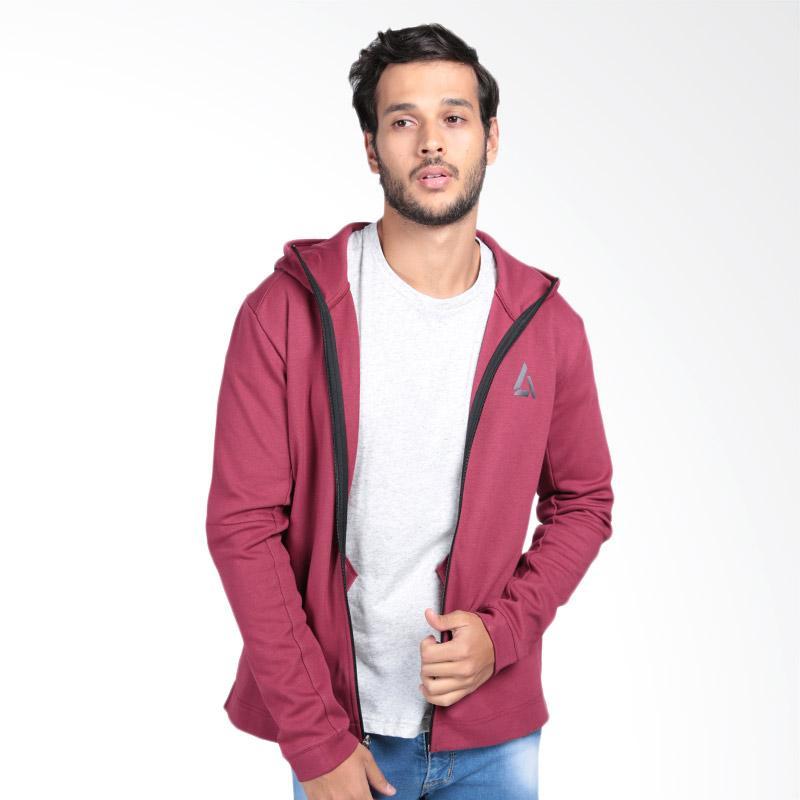 harga Legacy Sportswear Ultra Fleece Full-Zip. Col Jaket Olahraga Pria - Maroon Blibli.com