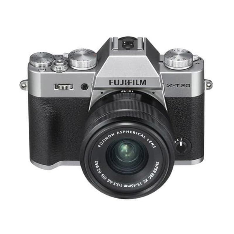 Megakamera Fujifilm X T20 Kit 15 45mm FREE NP W126S SDHC 16GB Kamera Mirrorless RESMI