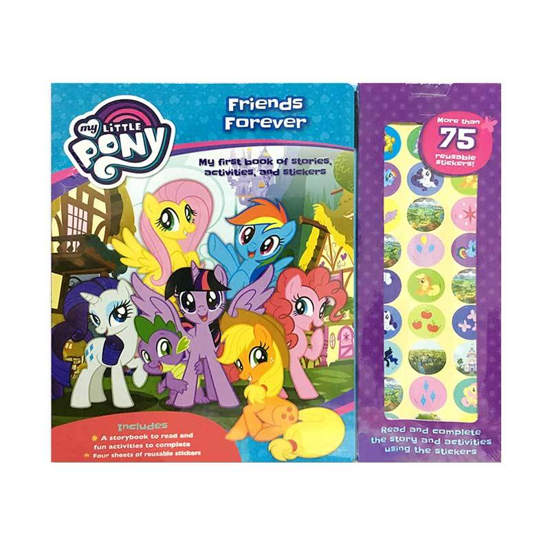 The Novelty Books N Hasbro MLP Story Sticker Book
