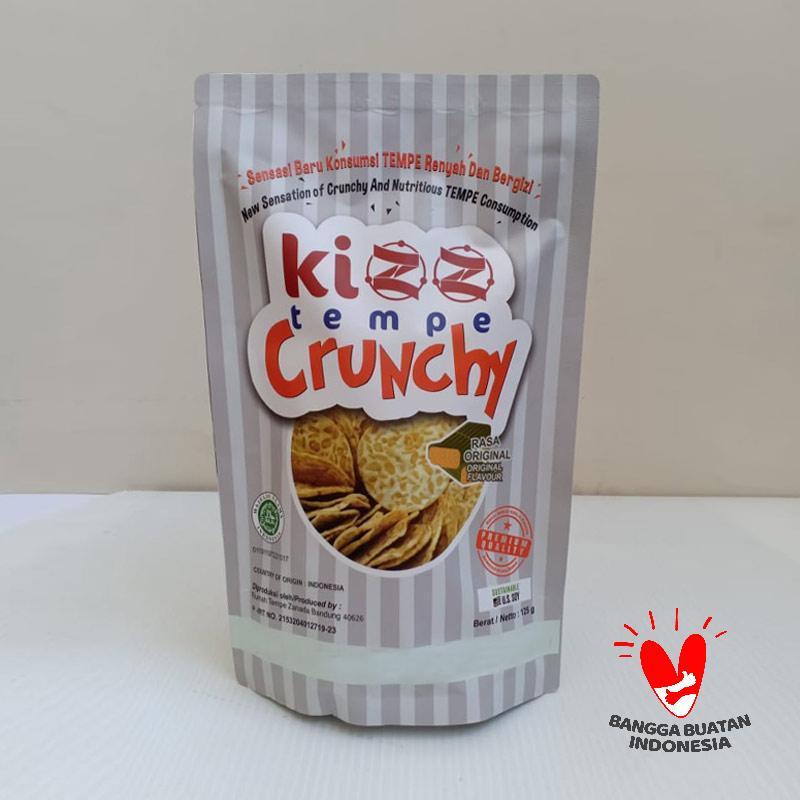 Kizz Tempe Crunchy Original Keripik