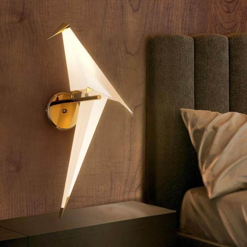 Jual Dadiaoyu Thousand Paper Crane Bedroom Wall Lamp Online Februari 2021 Blibli