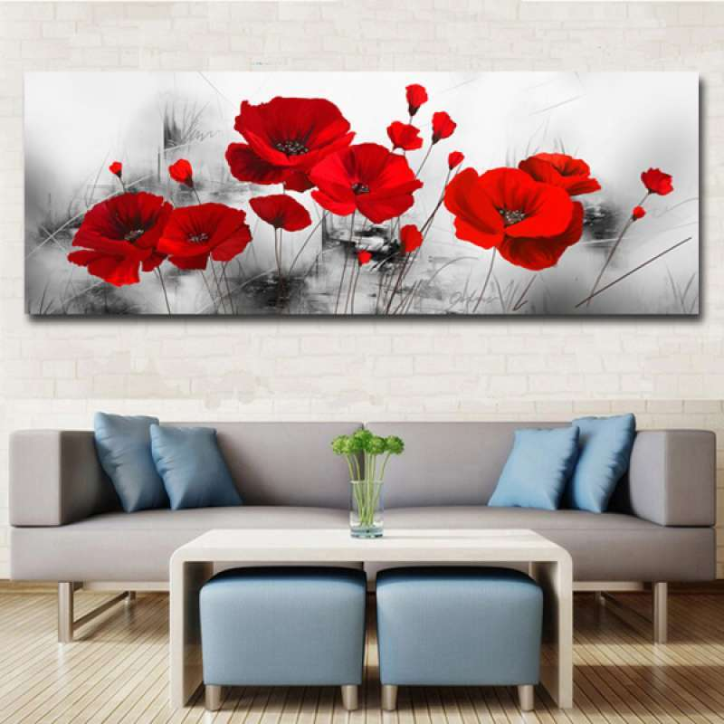 Jual 1pc Oil Paintings Modern Framed Giclee Canvas Print Artwork For Wall Art Online Januari 2021 Blibli