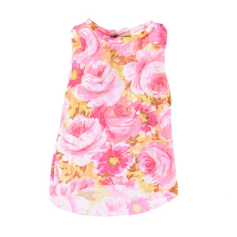 Cabriole 130 Adel & Audrey Flower Dress Anak