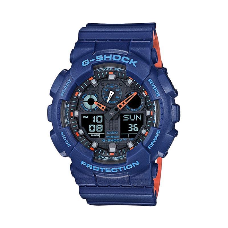 Casio G-Shock GA-100L-2ADR Jam Tangan Pria