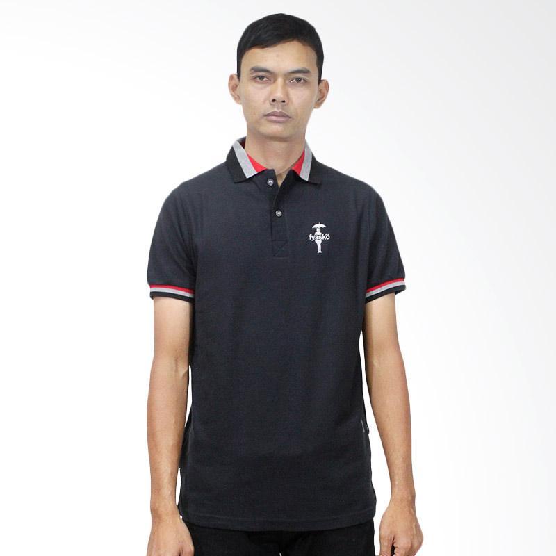 Fyasko Wangki RGB Man Polo Shirt - Black Extra diskon 7% setiap hari Extra diskon 5% setiap hari Citibank – lebih hemat 10%