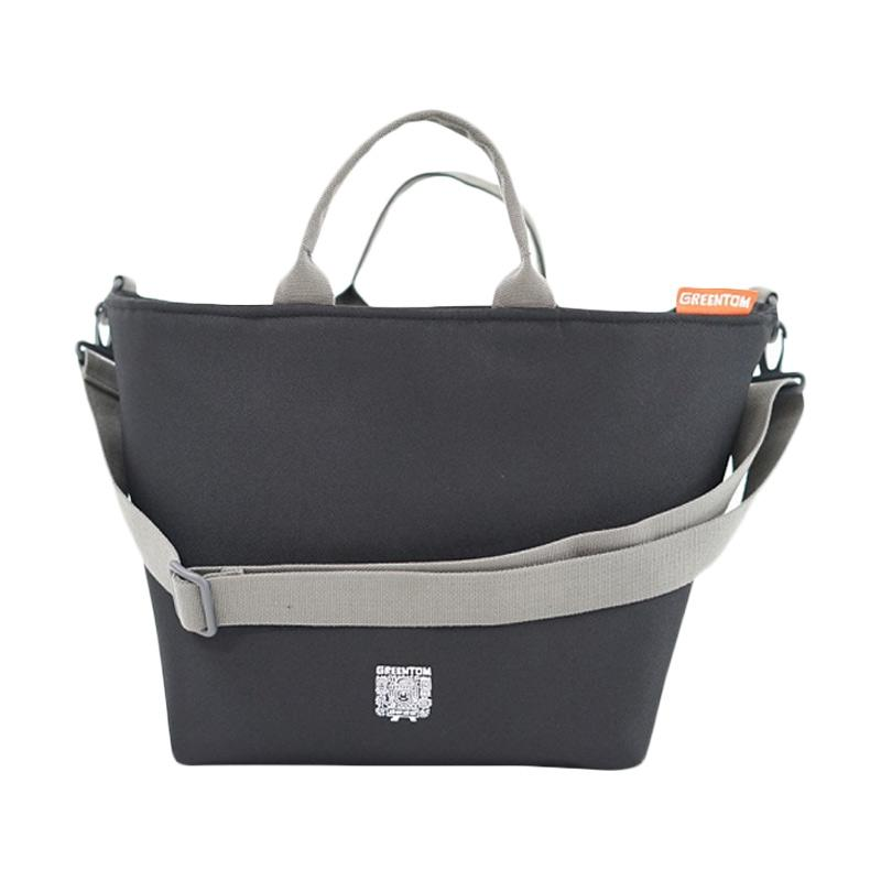 Greentom Shopping Bags - Black