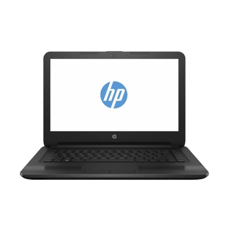 harga HP 14-AM504TU Notebook - Black [i3-6006U / 4GB / 500GB / DOS / 14