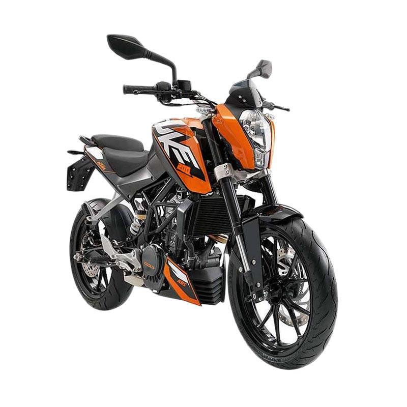 Indent - KTM Duke 200 Black Sepeda Motor