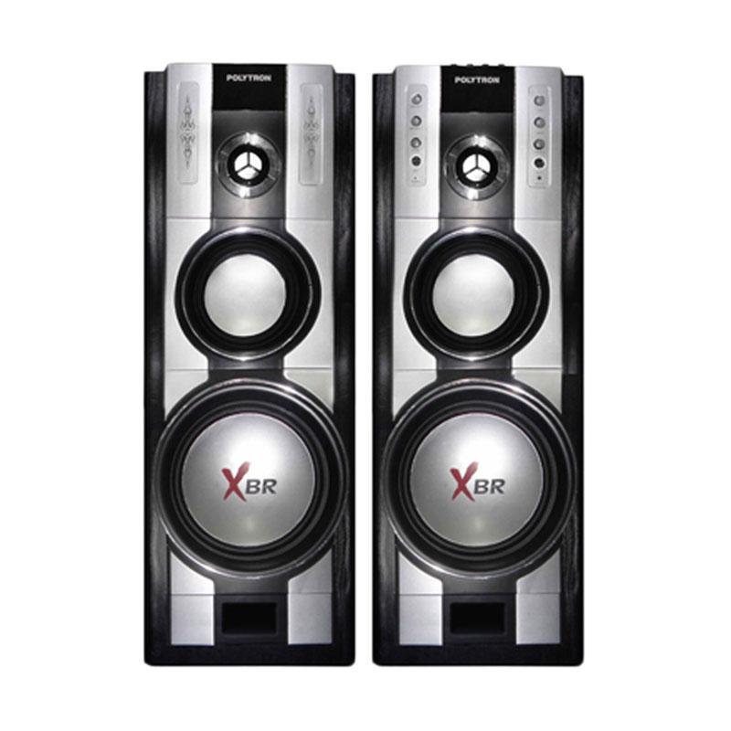 harga Polytron PAS 67 Speaker Aktif - Silver Hitam Blibli.com