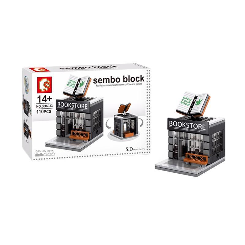 Sembo Sd6033 Book Store Mini Blocks