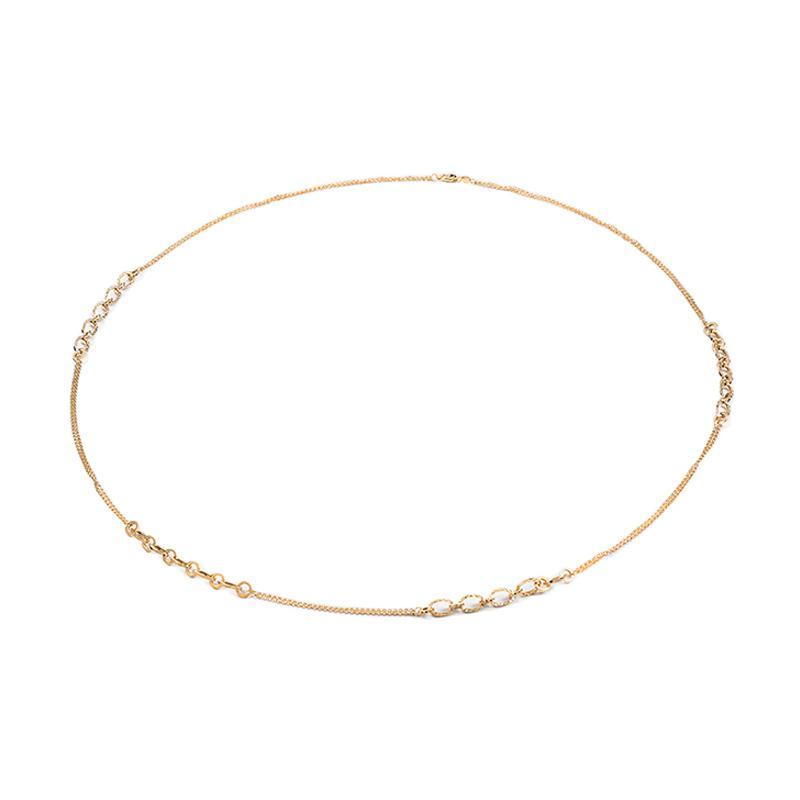 Gold Chain Necklace - Kalung Emas Kadar 75