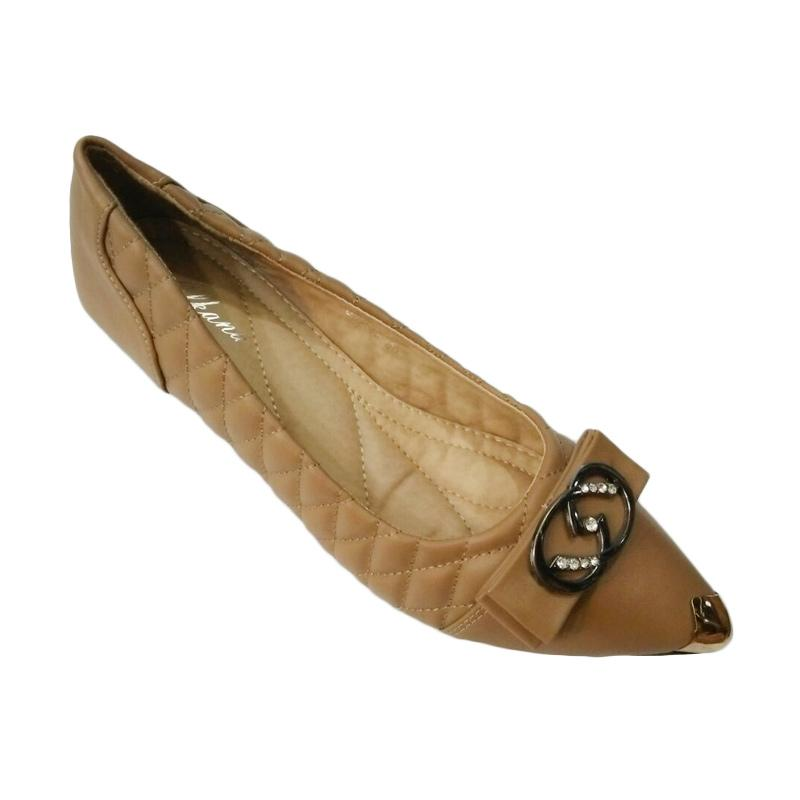 harga Alkana 631-39 Sepatu Wedges Wanita - Tan Blibli.com