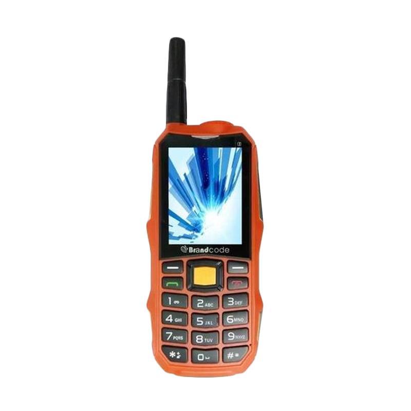 Brandcode B81 Handphone - Orange [10000 mAh]