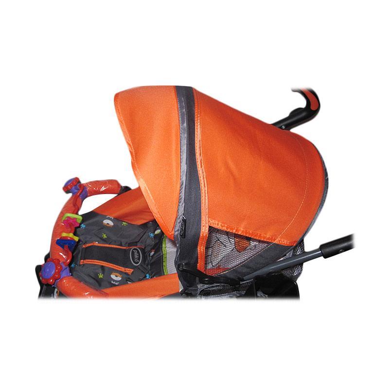 pliko pliko techno 107 stroller   orange full04