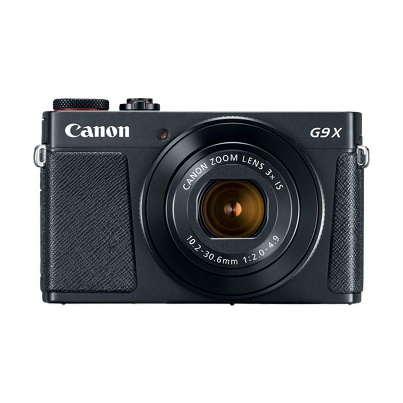Hot Deals - Canon PowerShot G9X Mark II Kamera Pocket - Black