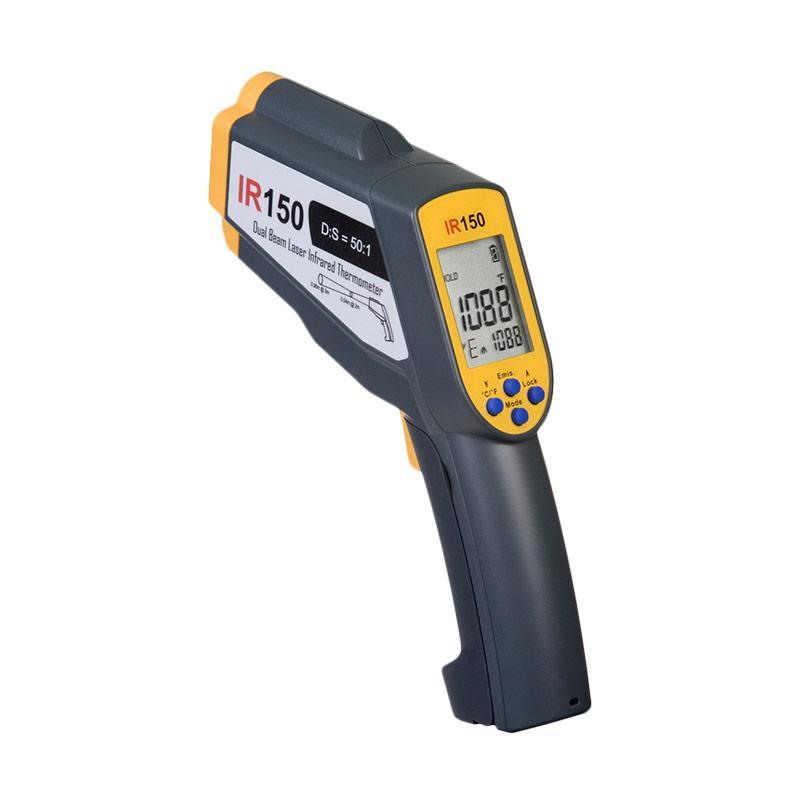 IRTEK IR150 Infrared Thermometer - Black Yellow