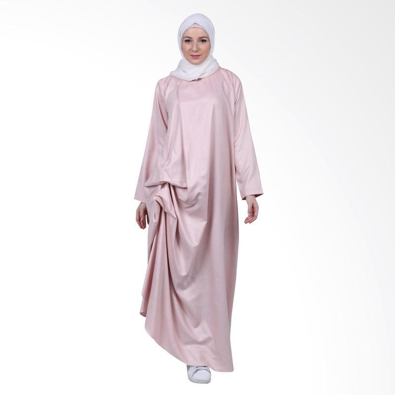 Kara indonesia raya dress mistyrose full04