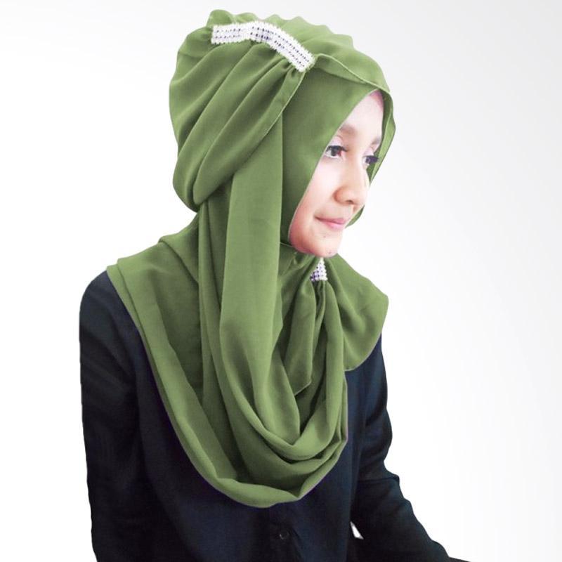 Milyarda Ring Hijab - Olive