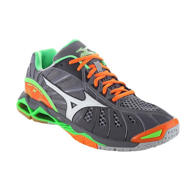 harga Mizuno WAVE TORNADO X  Sepatu Olahraga - Grey V1GA161206 Blibli.com
