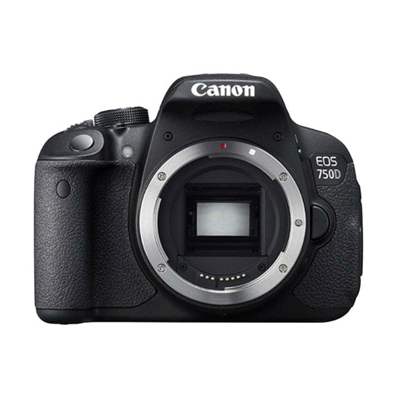 Canon EOS 750D Kamera DSLR [Body Only]