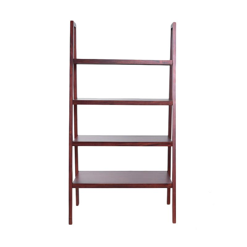 KIF Furniture Godis Shelf KIFF-GDS-SLF Rak - Red Brown