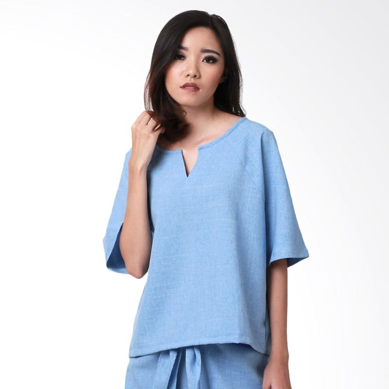 MS Porter Abel Blouse - Blue
