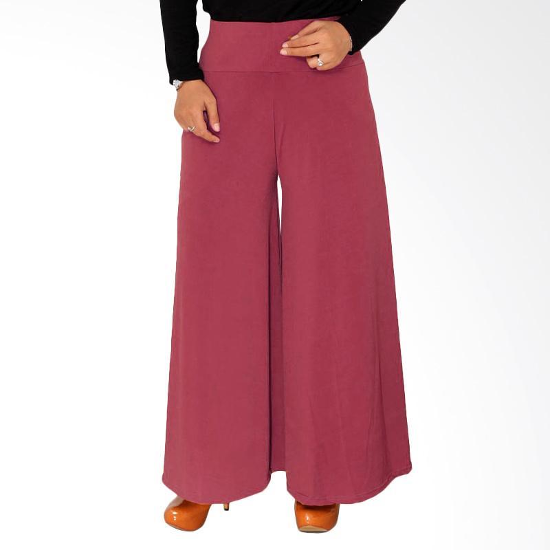 Rasya Celana Kulot Jersey - Pink