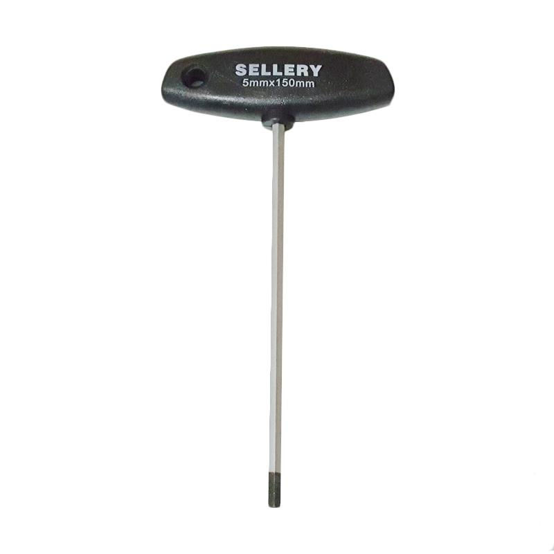 Sellery 58-625 T Handle Hex Key Kunci L [5 mm]