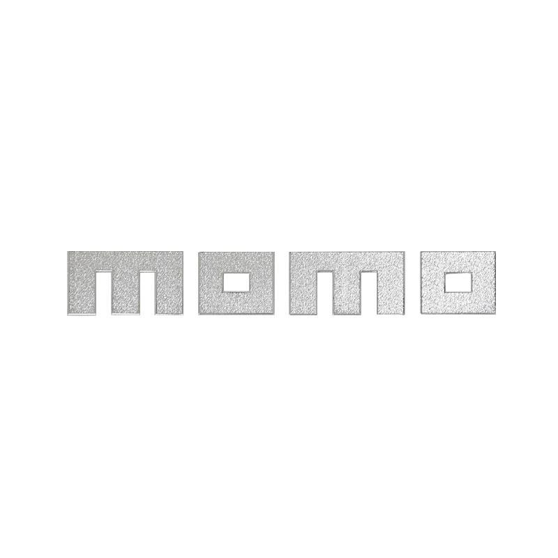 SIV Momo Sticker - Silver [Medium]