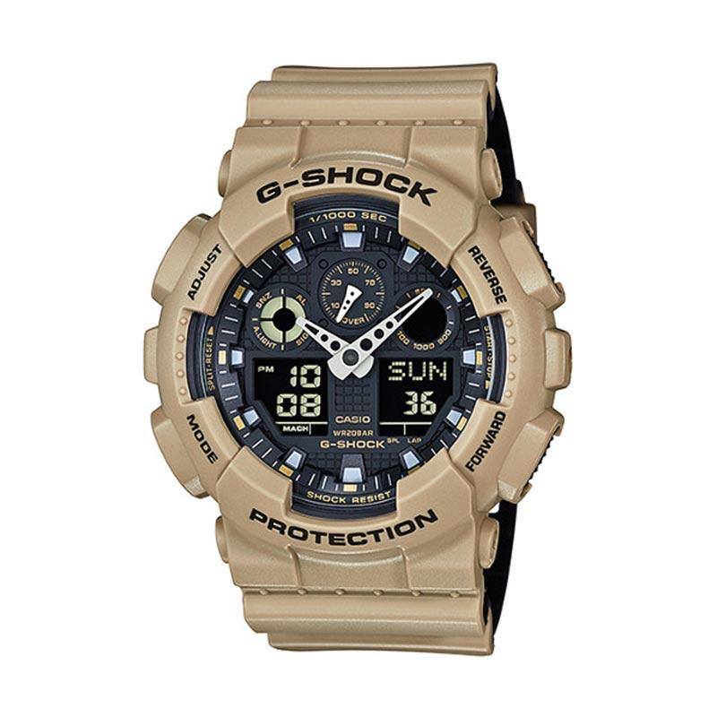 CASIO G-Shock GA-100L-8ADR Jam Tangan Pria - Beige