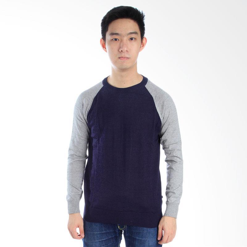 Elfs Shop Raglan Sweater - Biru Dongker