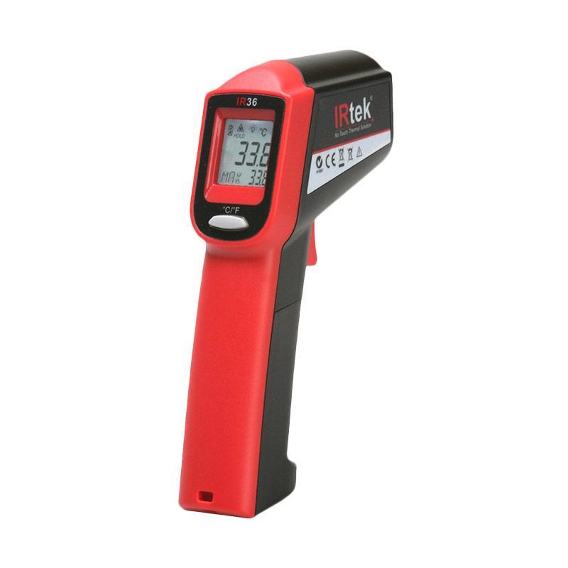 IRTEK IR36 Infrared Thermometer - Red Black
