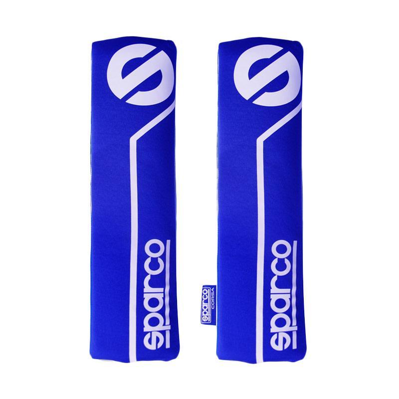 Sparco Safety Belt Pad - Blue [SPC1200]