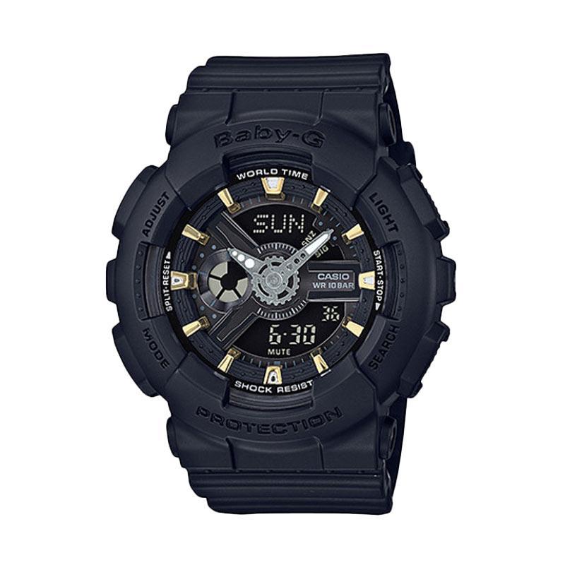 harga CASIO Baby-G BA-110GA-1ADR Jam Tangan Wanita - Black Blibli.com