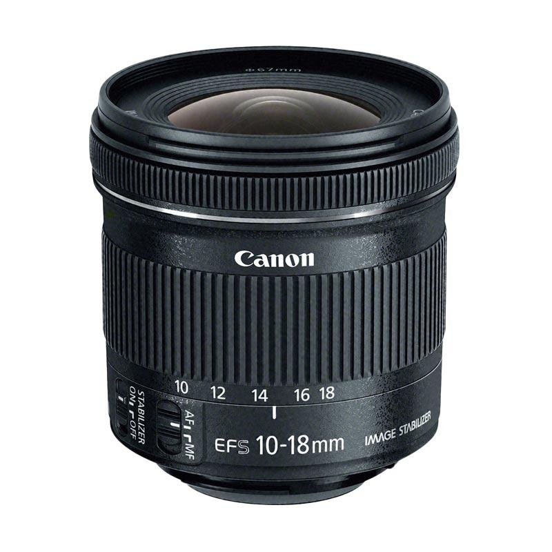 Canon Lensa EF S 10-18mm f/4.5-5.6 IS STM