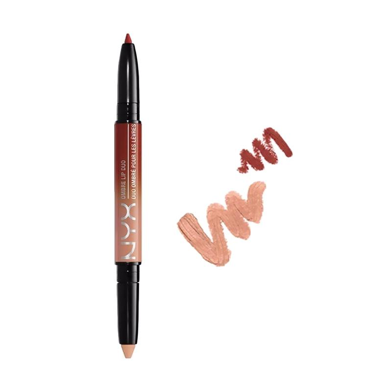 NYX Ombre Lip Duo Ginger & Nutmeg