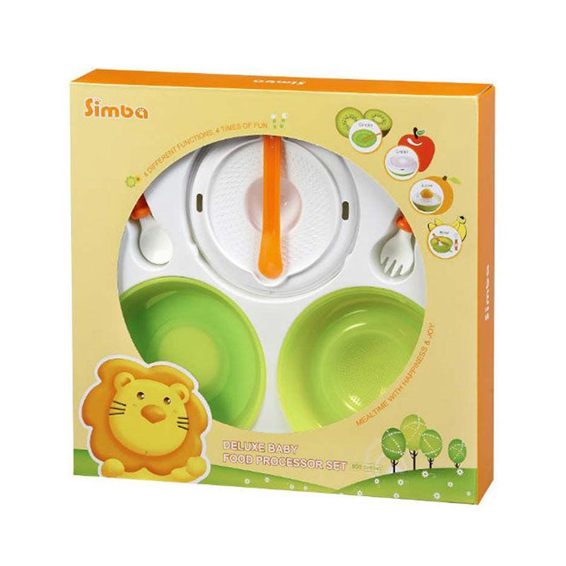 harga Simba Deluxe Food Processor Set Alat Makan Bayi Blibli.com