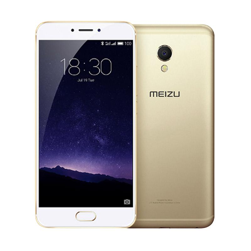 Meizu MX6 Smartphone - Gold [32GB/ 4GB] free Tongsis Cable