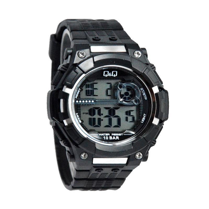 Q&Q Waterproof D48H160M125J001YHTM Digital Jam Tangan Pria