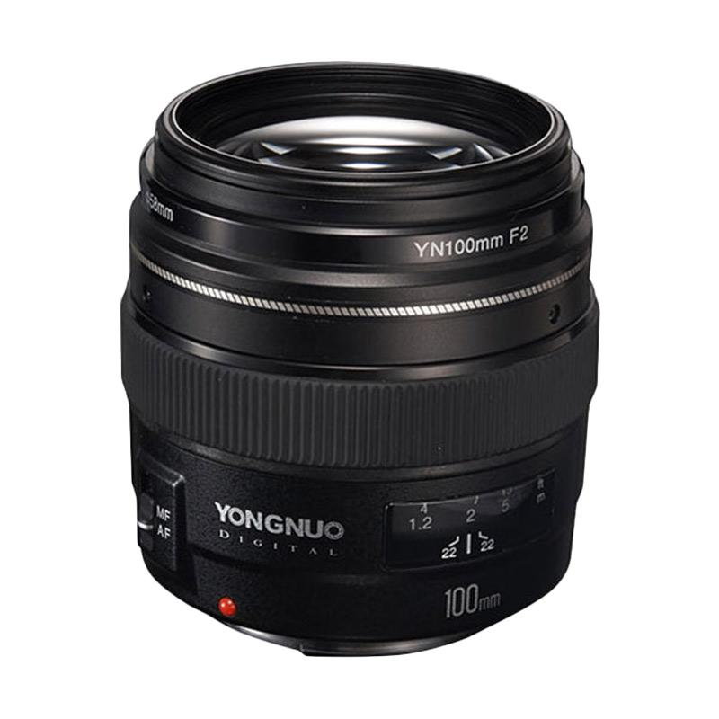 Yongnuo Lens YN 100mm f/2 Medium Telephoto Prime for Canon